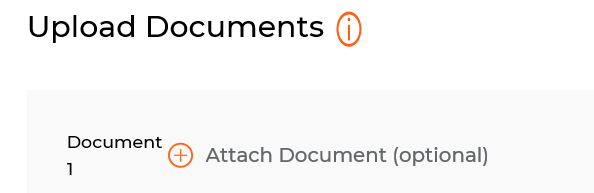 attach document